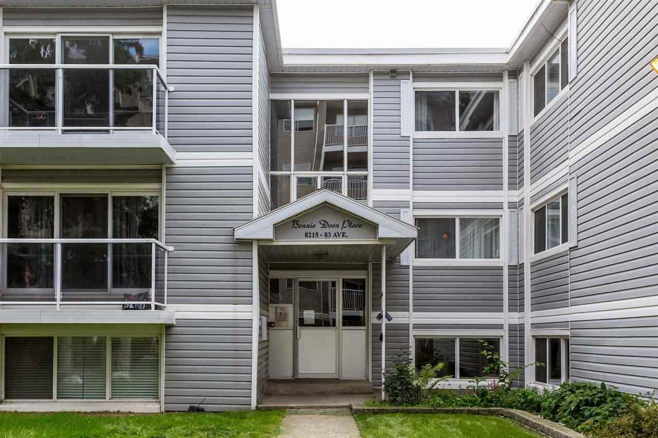 Main Photo: 210 8215 83 Ave Nw Avenue in Edmonton: Zone 18 Condo for sale : MLS®# E4181391