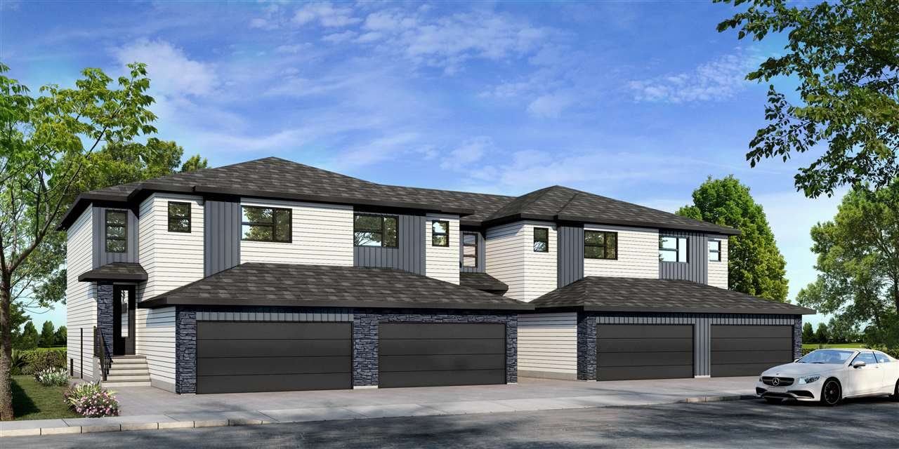 Main Photo: 5555 SCHONSEE Drive NW in Edmonton: Zone 28 Attached Home for sale : MLS®# E4205208
