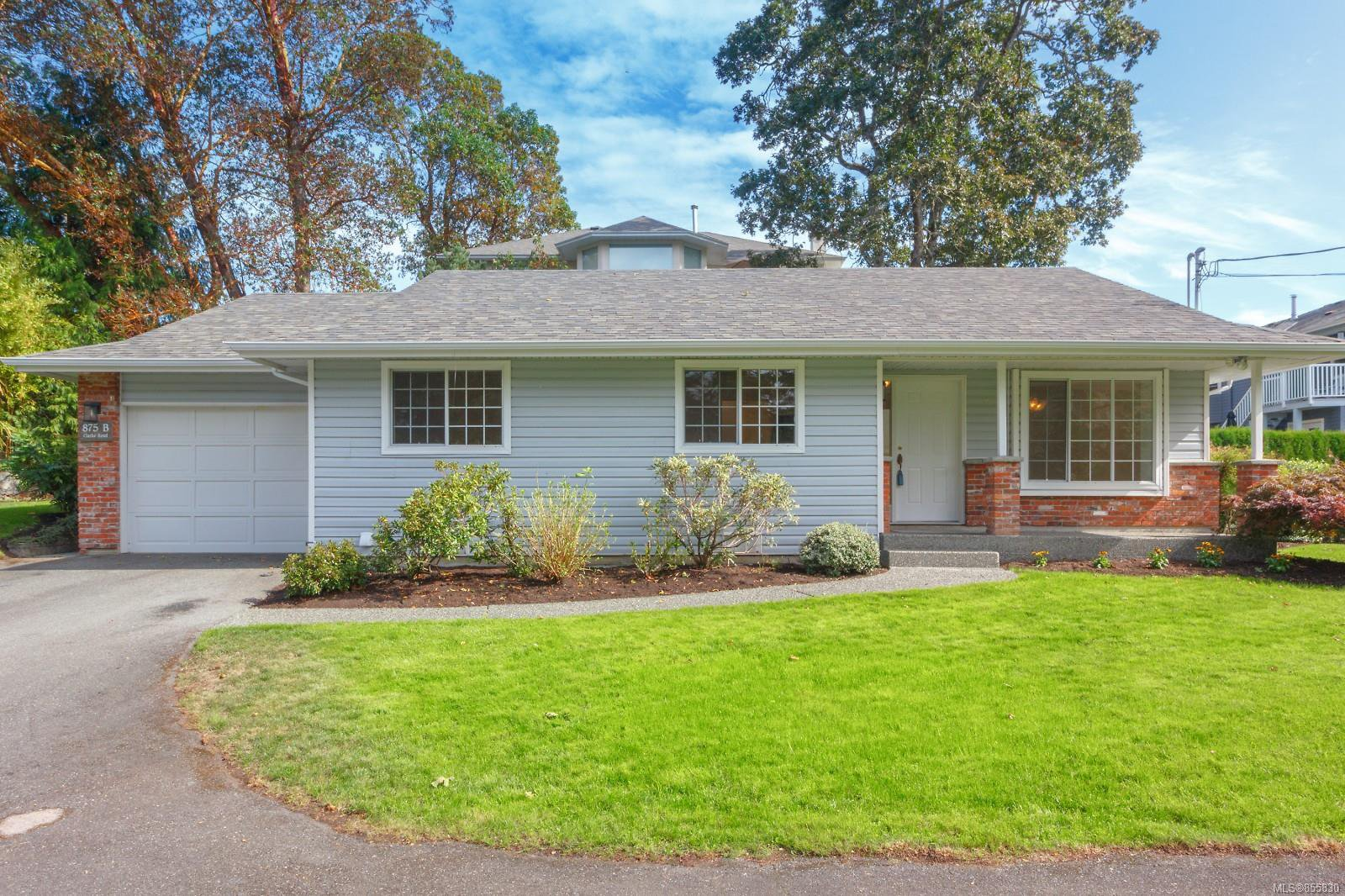 Main Photo: B 875 Clarke Rd in : CS Brentwood Bay House for sale (Central Saanich)  : MLS®# 855830