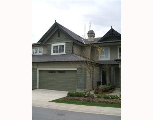 "Main Photo: 3 2978 WHISPER Way in Coquitlam: Westwood Plateau Townhouse for sale in ""WHISPER RIDGE"" : MLS®# V643247"