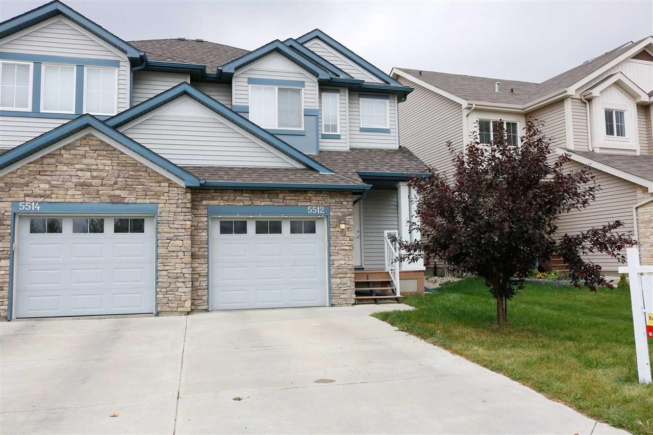Main Photo: 5512 15 Avenue in Edmonton: Zone 53 Attached Home for sale : MLS®# E4189198