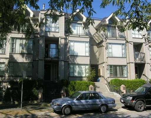 Main Photo: 3167 LAUREL ST in Vancouver: Fairview VW Townhouse for sale (Vancouver West)  : MLS®# V609907