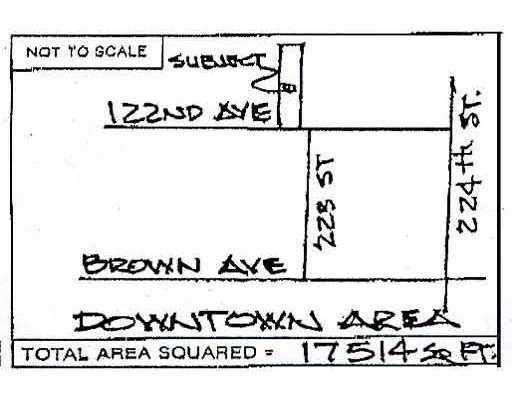 Main Photo: 22305 122ND AV in Maple Ridge: West Central Land for sale : MLS®# V591623