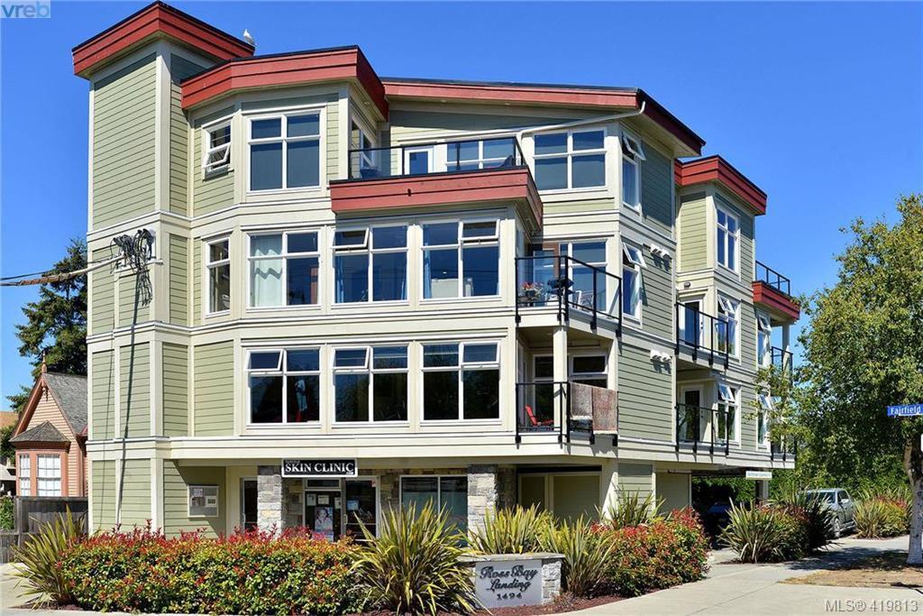Main Photo: 302 1494 Fairfield Road in VICTORIA: Vi Fairfield West Condo Apartment for sale (Victoria)  : MLS®# 419813