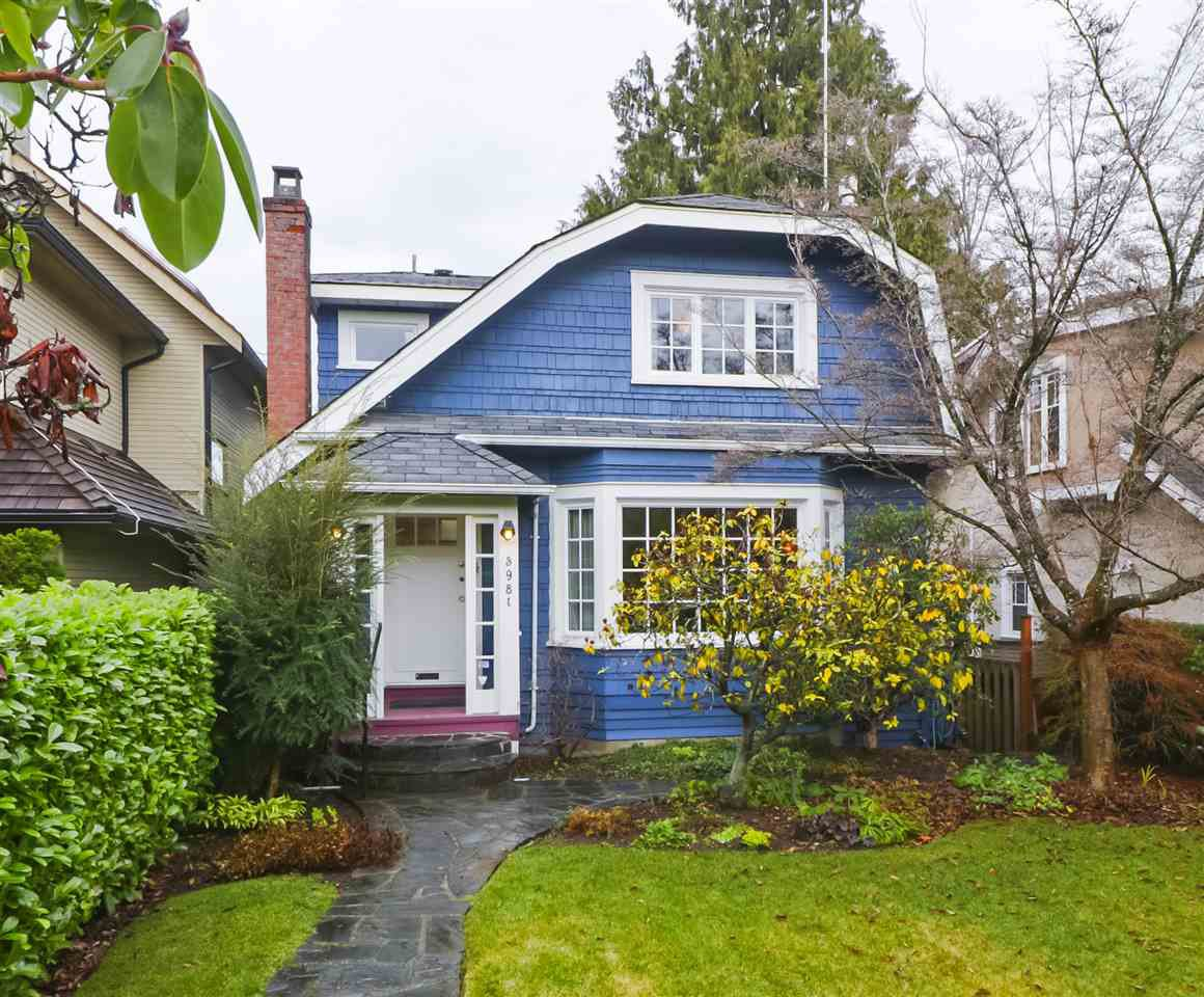 "Main Photo: 3981 W 11TH Avenue in Vancouver: Point Grey House for sale in ""Point Grey"" (Vancouver West)  : MLS®# R2430959"
