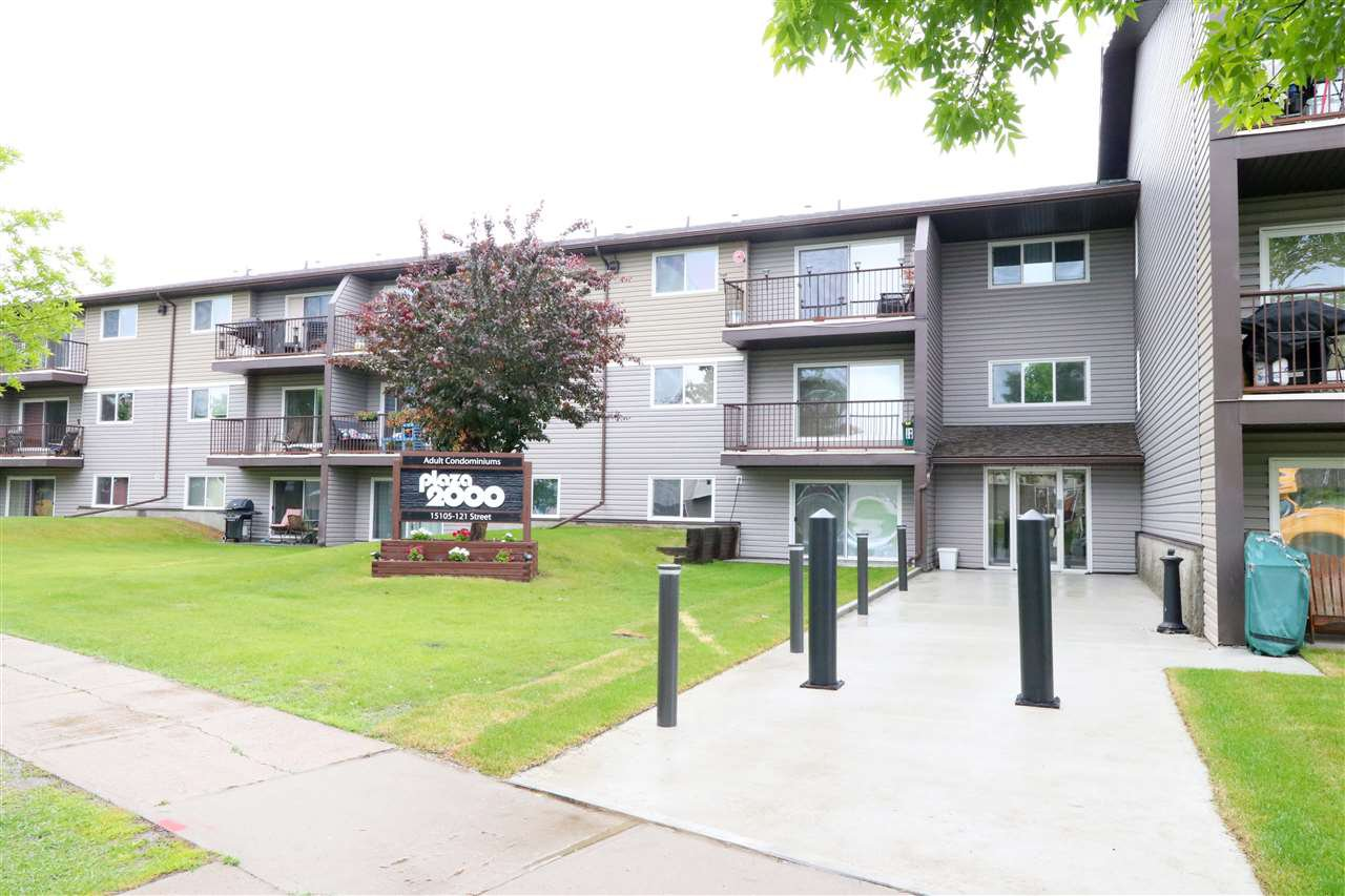 Main Photo: 320 15105 121 Street in Edmonton: Zone 27 Condo for sale : MLS®# E4206488