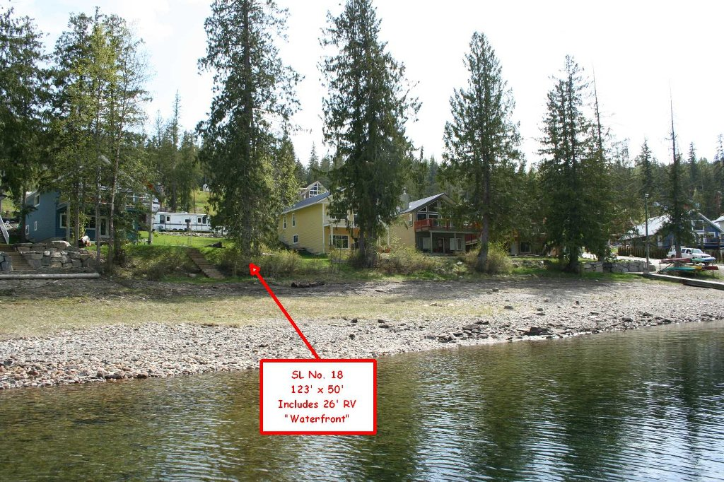 Main Photo: Lot #18 6421 Eagle Bay Road in Eagle Bay: Waterfront Land Only for sale (Wild Rose Bay)  : MLS®# 10024865