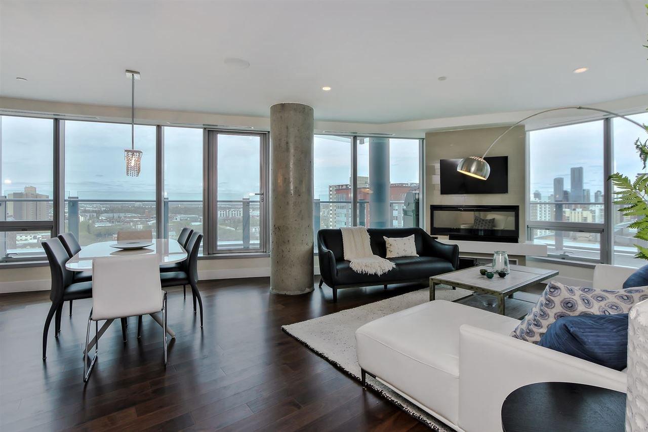 Main Photo: 1301 11969 JASPER Avenue in Edmonton: Zone 12 Condo for sale : MLS®# E4166131