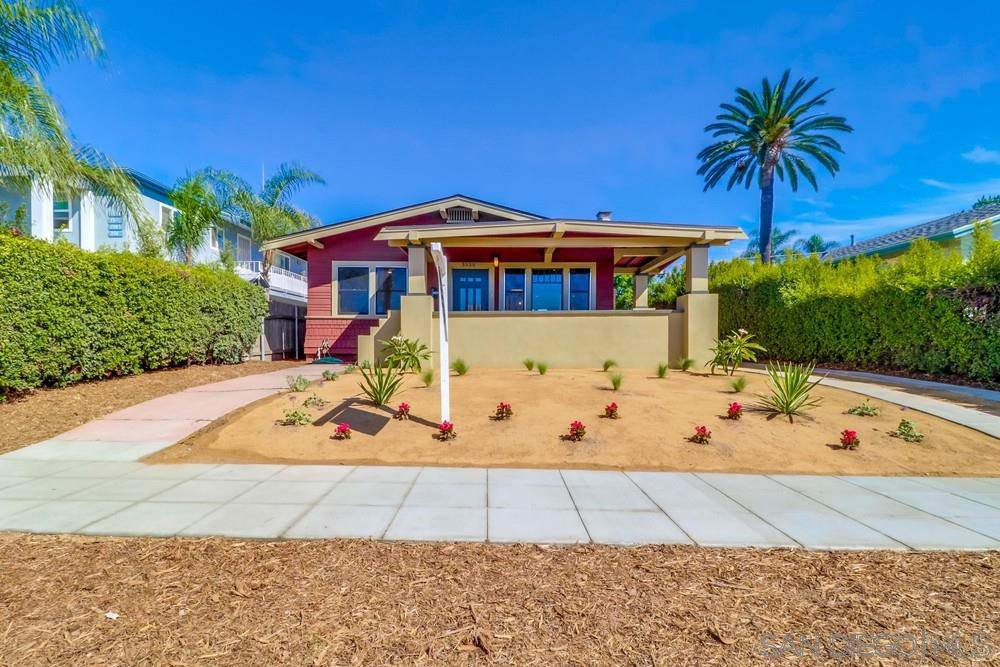 Main Photo: NORTH PARK House for sale : 3 bedrooms : 3535 Grim Ave in San Diego
