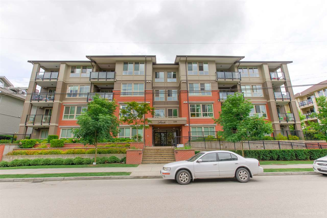 """Main Photo: 305 2288 WELCHER Avenue in Port Coquitlam: Central Pt Coquitlam Condo for sale in """"AMANTI"""" : MLS®# R2477865"""