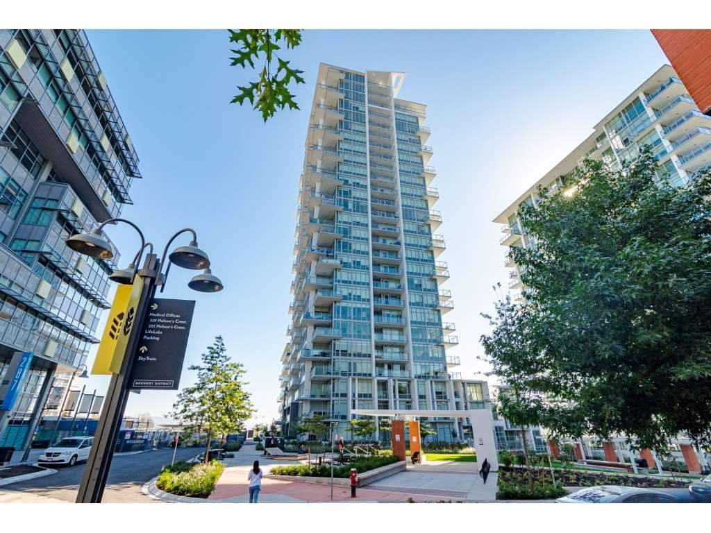 """Main Photo: 1202 258 NELSON'S Court in New Westminster: Sapperton Condo for sale in """"The Columbia at Brewery District"""" : MLS®# R2518610"""
