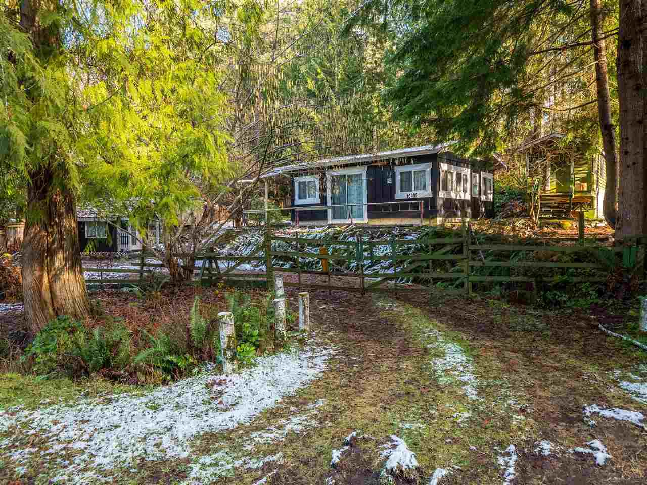 Main Photo: 16432 TIMBERLINE Road in Egmont: Pender Harbour Egmont House for sale (Sunshine Coast)  : MLS®# R2433652