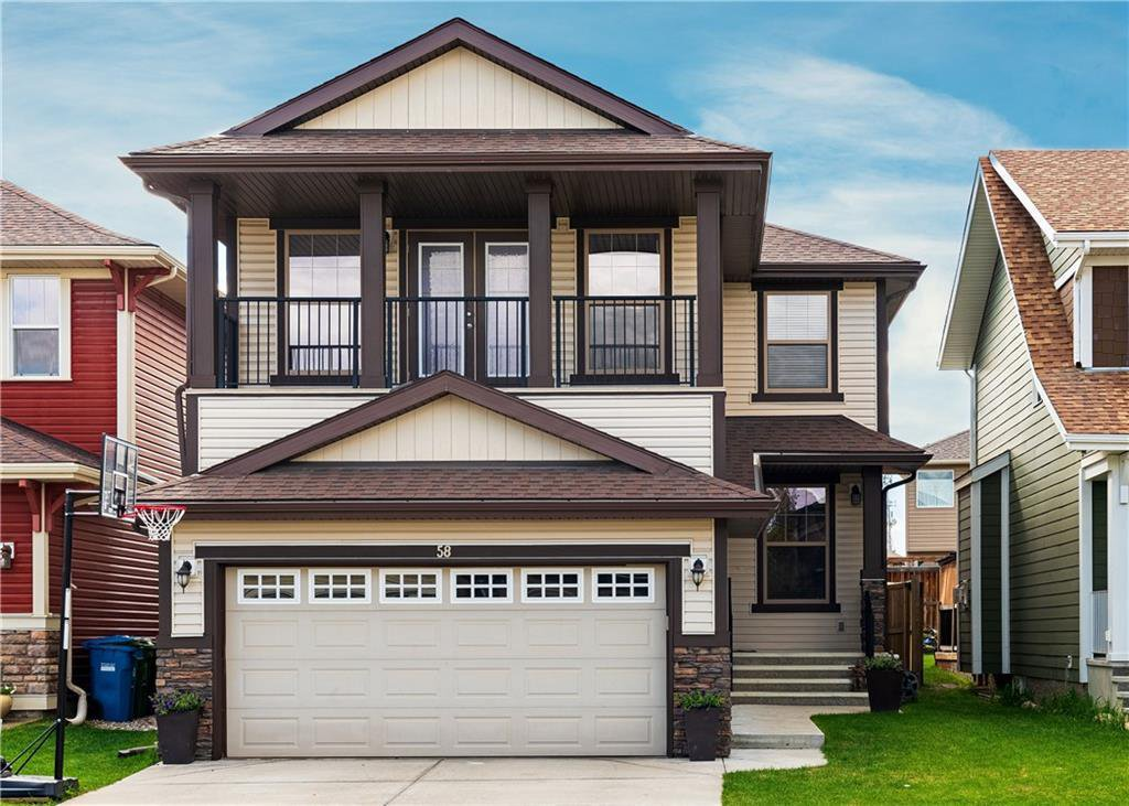 Main Photo: 58 AUBURN GLEN Place SE in Calgary: Auburn Bay Detached for sale : MLS®# C4299153