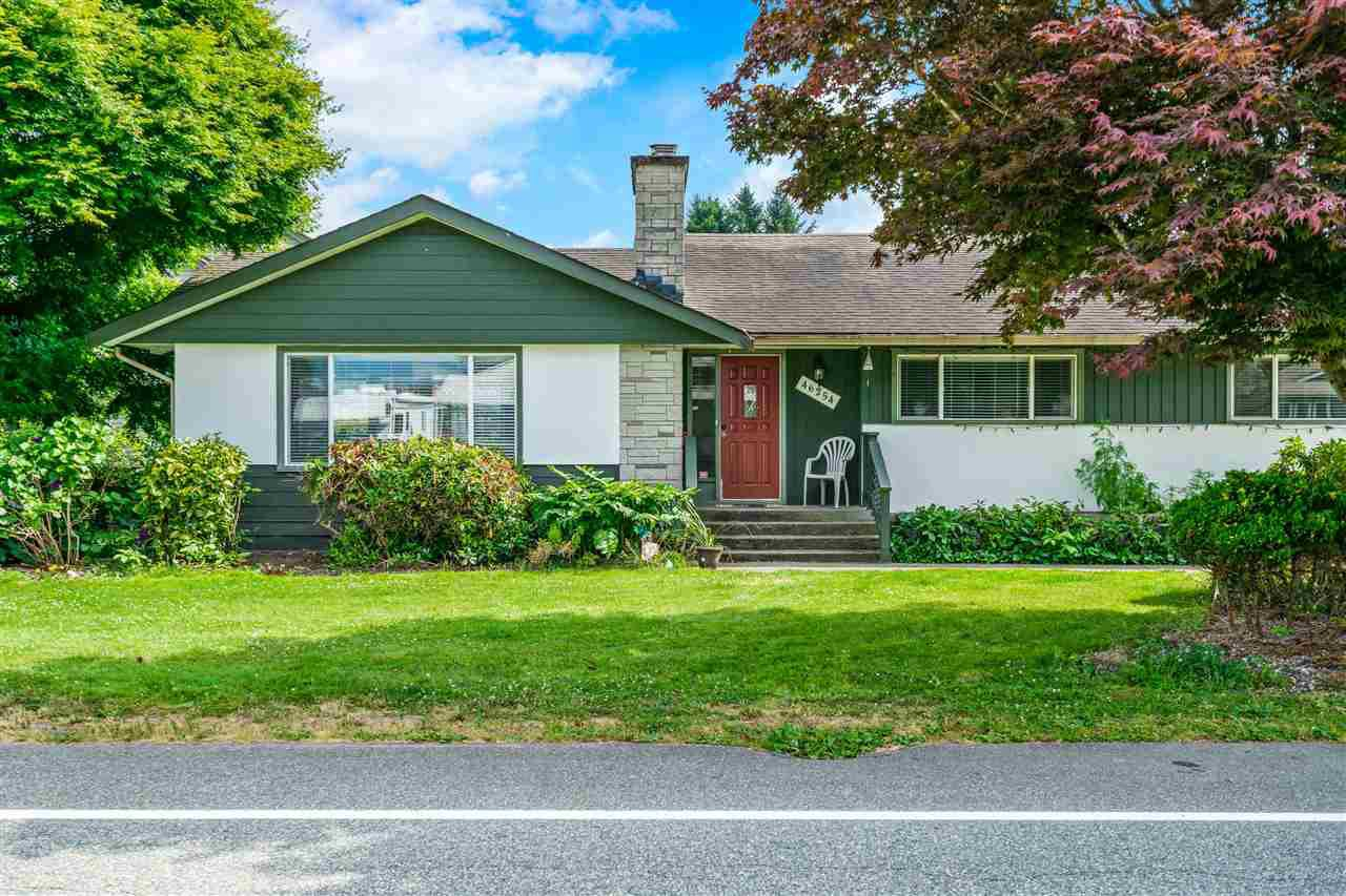 Main Photo: 46254 STRATHCONA Road in Chilliwack: Fairfield Island House for sale : MLS®# R2480143
