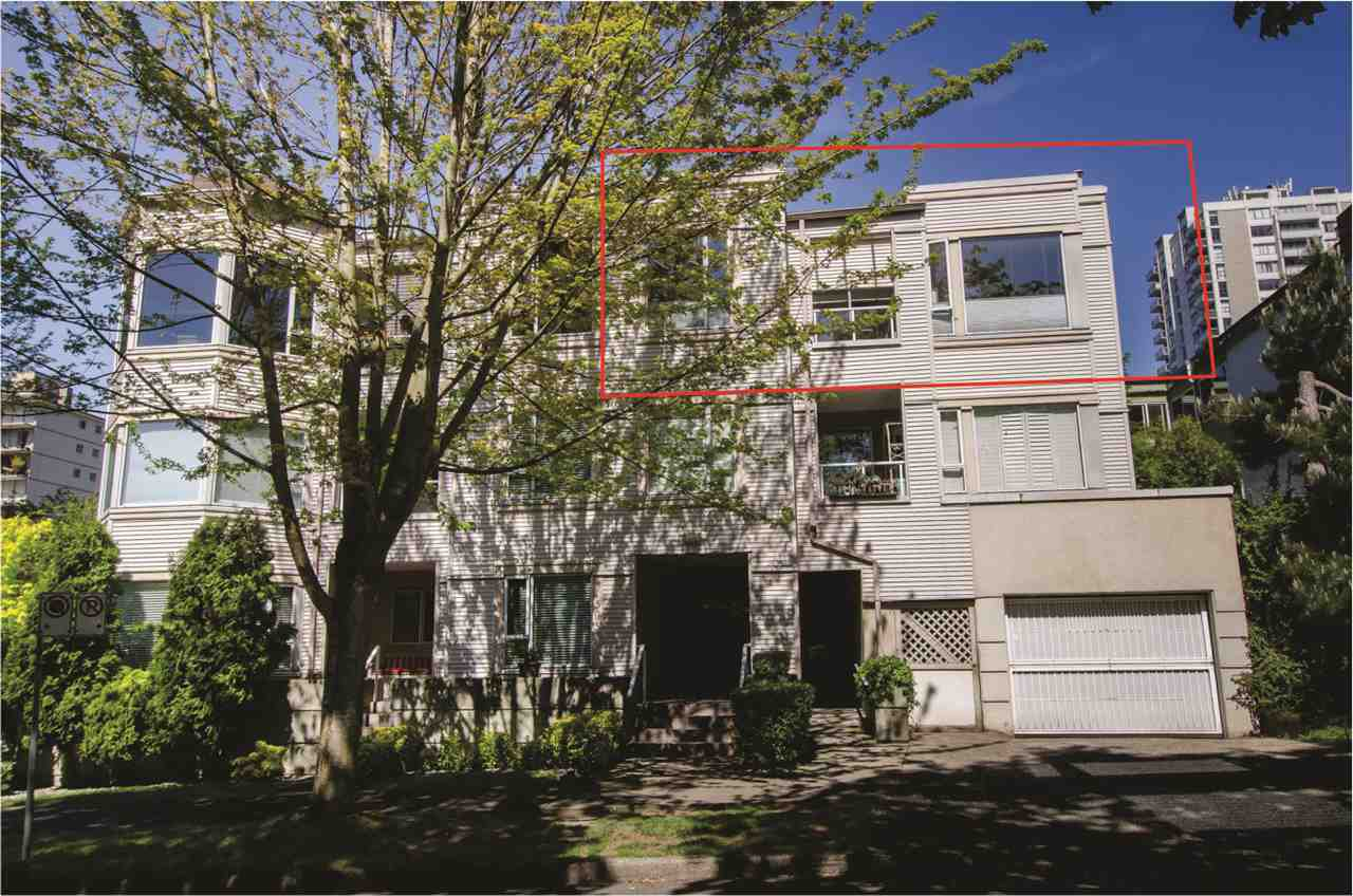 Photo 2: Photos: 306 1595 BARCLAY Street in Vancouver: West End VW Condo for sale (Vancouver West)  : MLS®# R2396081