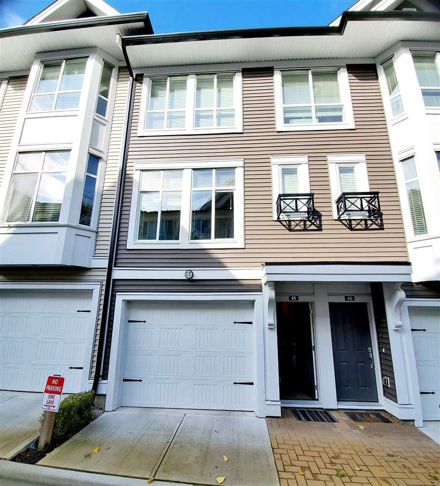 Main Photo: 45 14433 60 AVENUE in Surrey: Sullivan Station Townhouse for sale : MLS®# R2412094