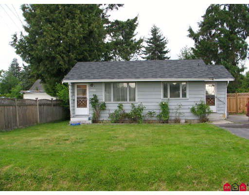 Main Photo: 10982 139A Street in Surrey: Bolivar Heights House for sale (North Surrey)  : MLS®# F2924995