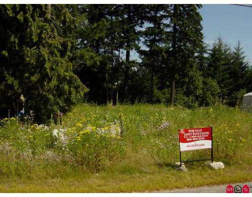 Main Photo: 63807 BEECH Avenue in Hope: Hope Silver Creek Land for sale : MLS®# H2702667