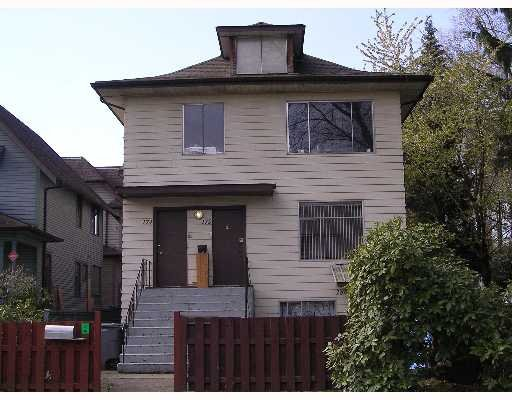 Main Photo: 174-180 11th W Avenue in Vancouver: House for sale (Vancouver West)  : MLS®# v642349