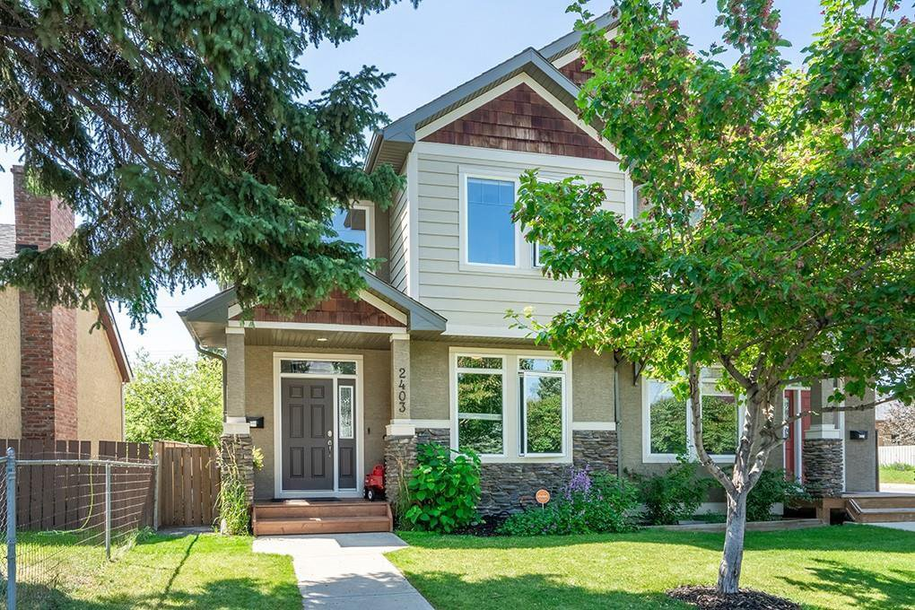 Main Photo: 2403 30 Street SW in Calgary: Killarney/Glengarry Semi Detached for sale : MLS®# C4261966
