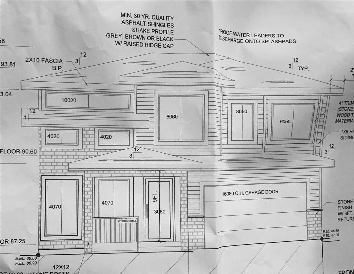 Main Photo: 16640 19 Avenue in Surrey: Pacific Douglas Land for sale (South Surrey White Rock)  : MLS®# R2418820