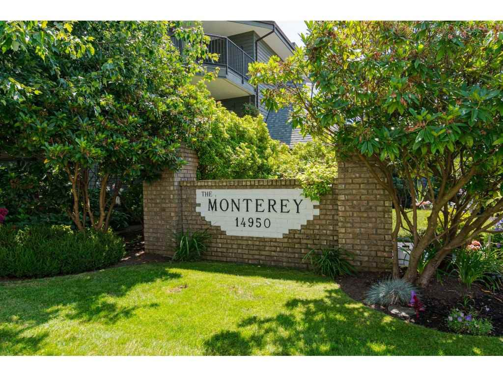 """Main Photo: 304 14950 THRIFT Avenue: White Rock Condo for sale in """"The Monterey"""" (South Surrey White Rock)  : MLS®# R2526137"""