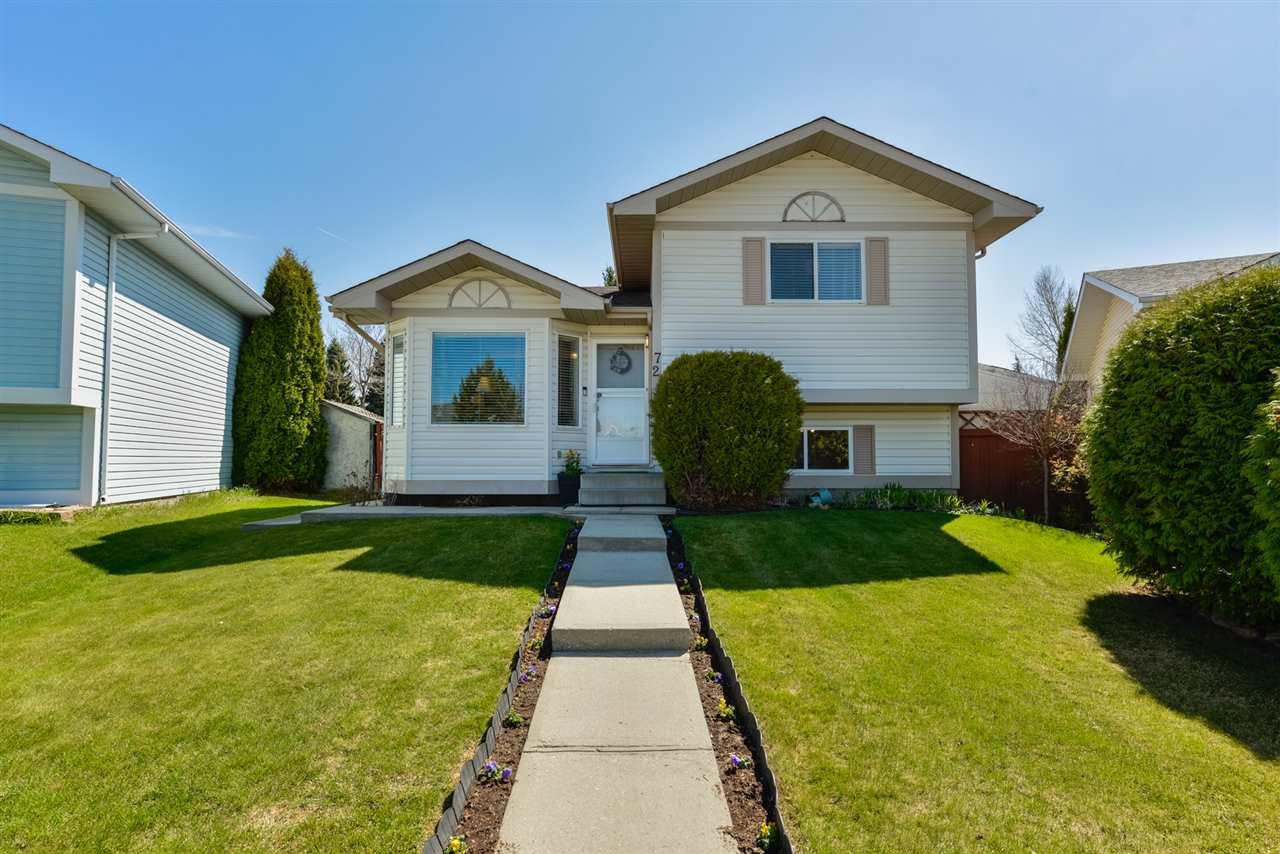 Main Photo: 72 ASPENGLEN Crescent: Spruce Grove House for sale : MLS®# E4197117