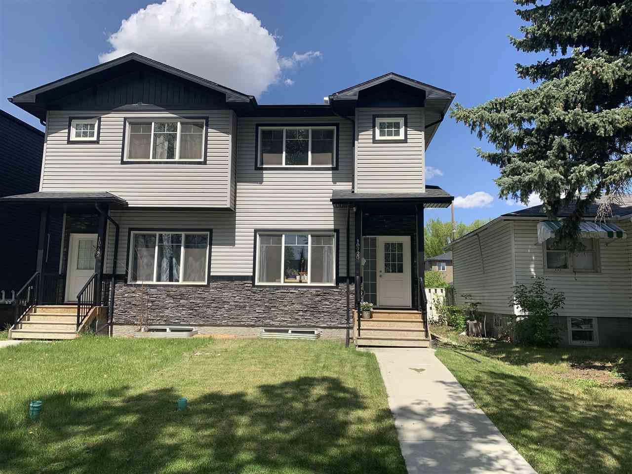 Main Photo: 10720 69 Avenue in Edmonton: Zone 15 House Half Duplex for sale : MLS®# E4200004