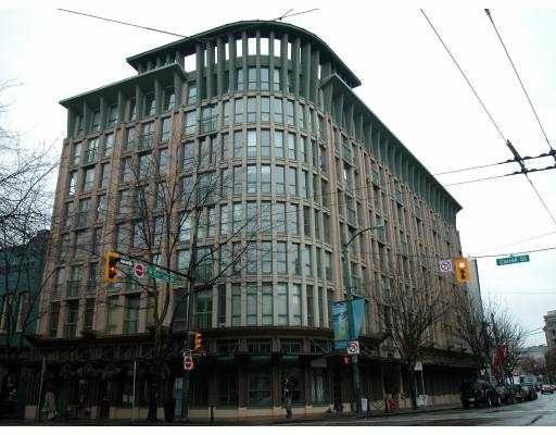 """Main Photo: 407 1 E CORDOVA Street in Vancouver: Downtown VE Condo for sale in """"CARRALL STREET STATION"""" (Vancouver East)  : MLS®# V689852"""