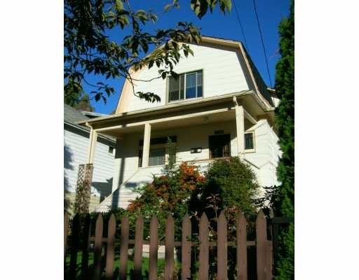 Main Photo: 3606 CAROLINA Street in Vancouver: Fraser VE House for sale (Vancouver East)  : MLS®# V616585