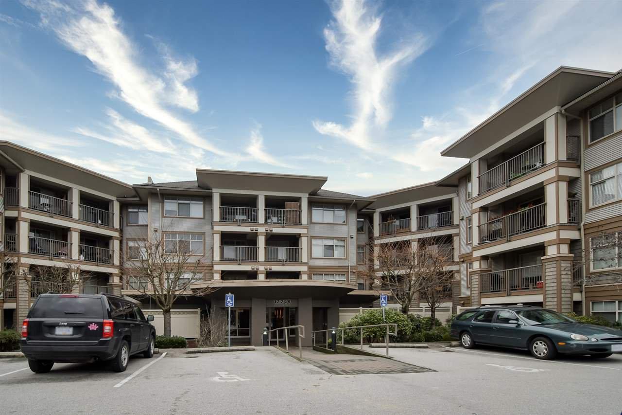 "Main Photo: 216 12248 224 Street in Maple Ridge: East Central Condo for sale in ""The Urbano"" : MLS®# R2421916"