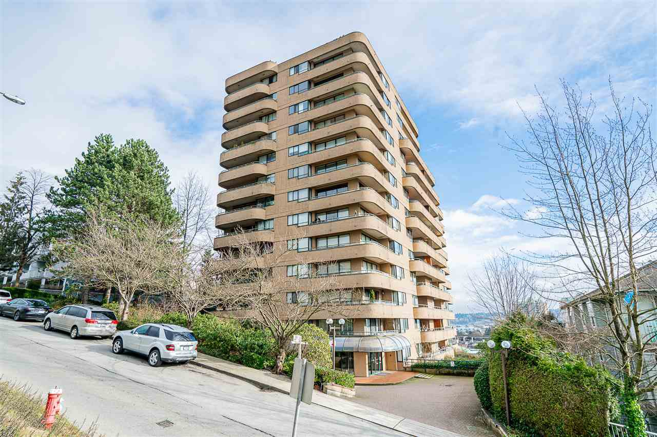 """Main Photo: 603 1026 QUEENS Avenue in New Westminster: Uptown NW Condo for sale in """"Amara Terrace"""" : MLS®# R2435801"""