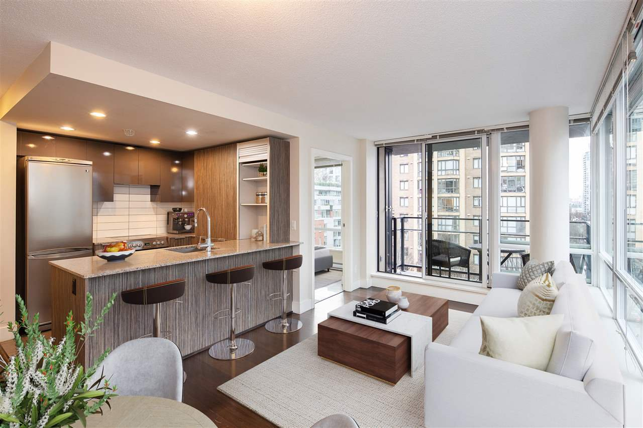 "Main Photo: 603 1088 RICHARDS Street in Vancouver: Yaletown Condo for sale in ""Richards Living"" (Vancouver West)  : MLS®# R2528665"