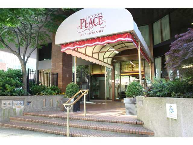 Main Photo: 301 1177 Hornby Street in Vancouver: Downtown VW Condo for sale (Vancouver West)  : MLS®# v865683