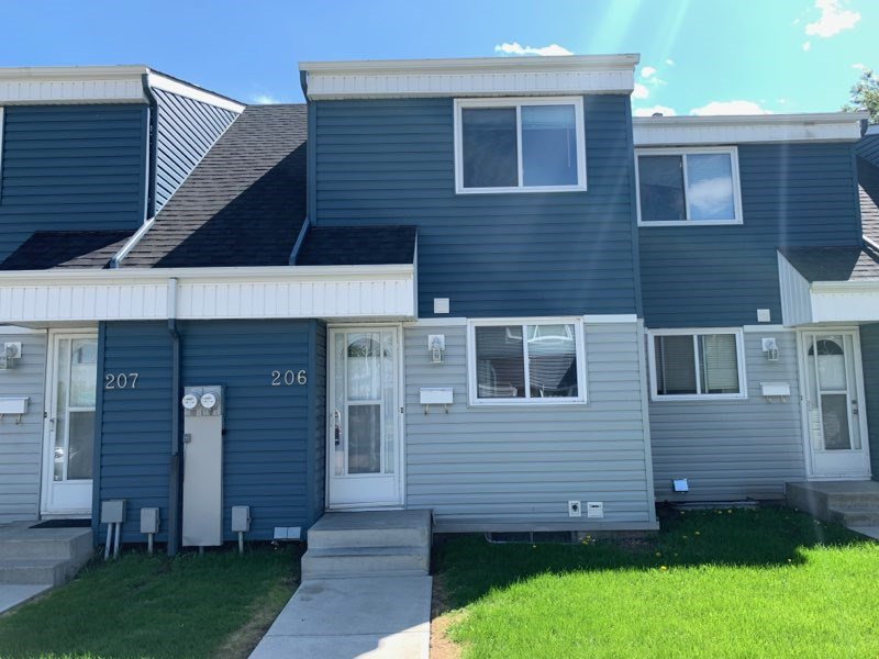Main Photo: 206 14707 53 Avenue in Edmonton: Zone 14 Townhouse for sale : MLS®# E4201260