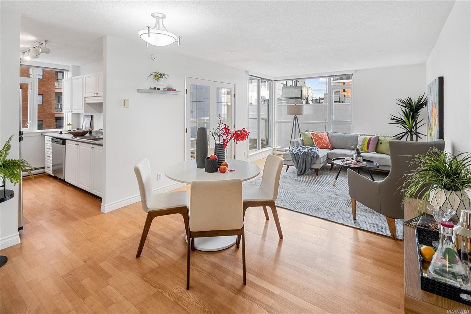 Main Photo: 502 835 View St in : Vi Downtown Condo for sale (Victoria)  : MLS®# 859121