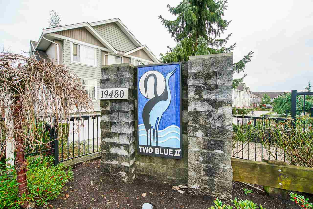 """Main Photo: 43 19480 66 Avenue in Surrey: Clayton Townhouse for sale in """"TWO BLUE"""" (Cloverdale)  : MLS®# R2527582"""