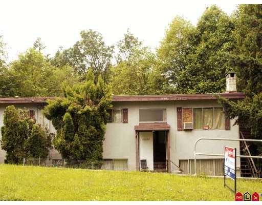 Main Photo: 11337 GLEN AVON Drive in Surrey: Bolivar Heights House 1/2 Duplex for sale (North Surrey)  : MLS®# F2715854