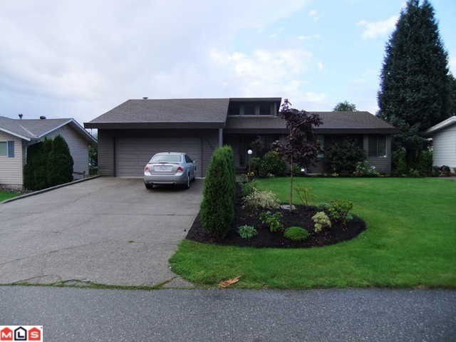 Main Photo: 33138 EDGEWOOD AV in Abbotsford: Poplar House for sale : MLS®# F1117231