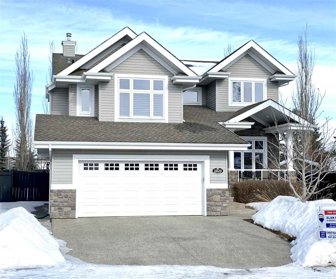 Main Photo: 2829 TERWILLEGAR Wynd in Edmonton: Zone 14 House for sale : MLS®# E4179970