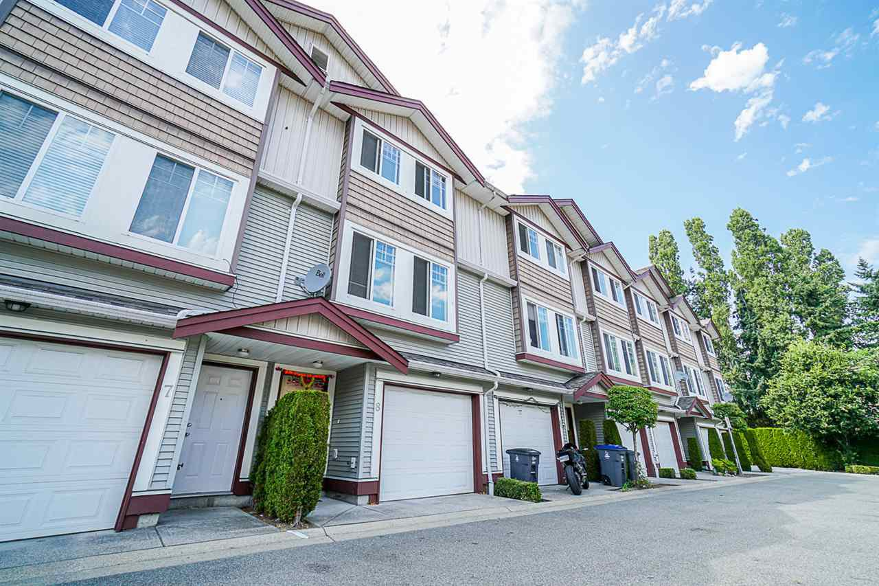 Main Photo: 8 8255 120A Street in Surrey: Queen Mary Park Surrey Townhouse for sale : MLS®# R2481501