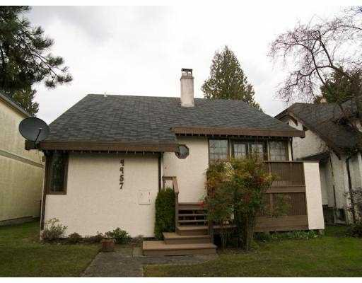 Main Photo: 4457 W 11TH Avenue in Vancouver: Point Grey House for sale (Vancouver West)  : MLS®# V695362