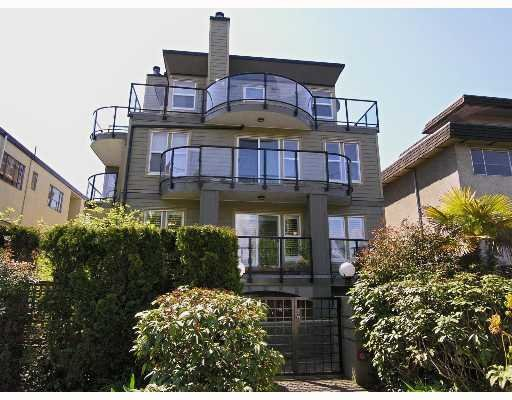 Main Photo: #5 1966 York Avenue in Kits Beach Van.: Townhouse for sale : MLS®# V644136