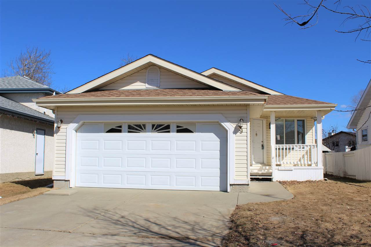 Main Photo: 9 Delage Crescent: St. Albert House for sale : MLS®# E4187528