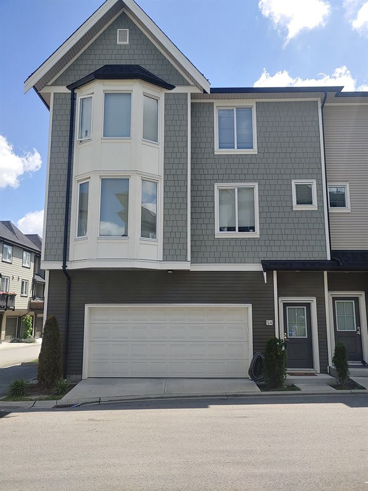 Main Photo: 54 8138 204TH Street in Langley: Willoughby Heights Townhouse for sale : MLS®# R2477324