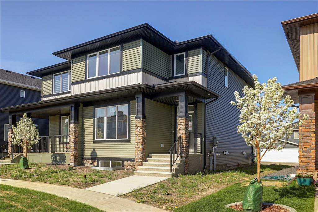 Main Photo: 27 RAVENSTERN Point SE: Airdrie Semi Detached for sale : MLS®# C4286899