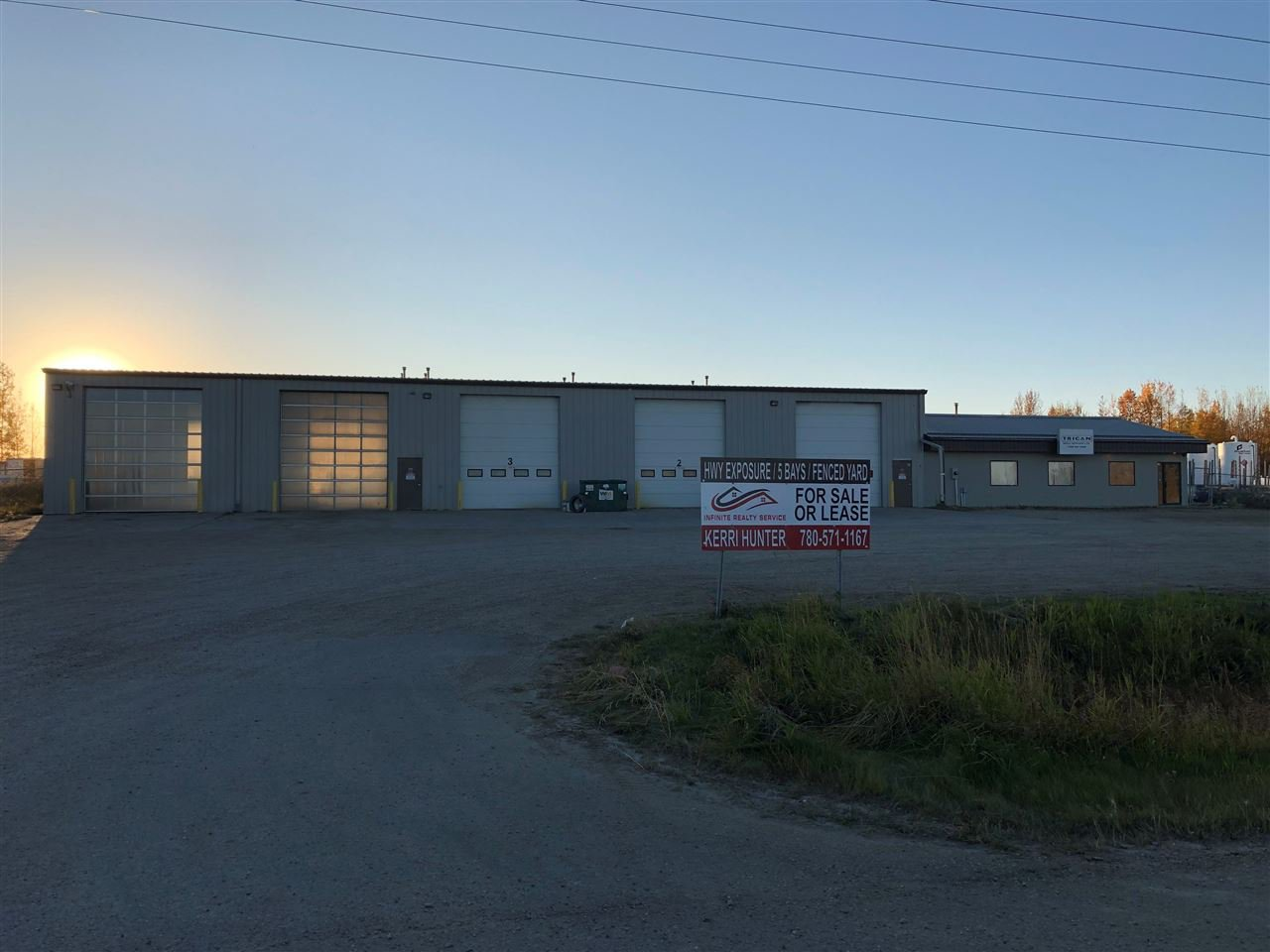 Main Photo: 4102 62 Street: Drayton Valley Industrial for sale : MLS®# E4216105