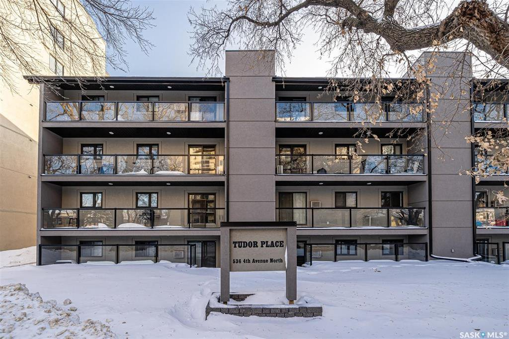Main Photo: 405 536 4th Avenue North in Saskatoon: City Park Residential for sale : MLS®# SK834063