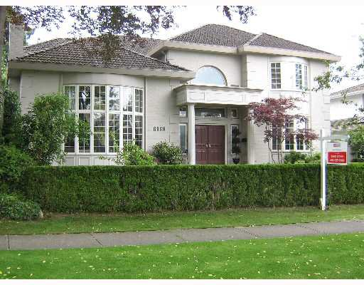 Main Photo: 6968 W WILTSHIRE Street in Vancouver: South Granville House for sale (Vancouver West)  : MLS®# V651119