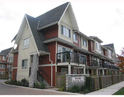 """Main Photo: 12 9308 KEEFER Avenue in Richmond: McLennan North Townhouse for sale in """"VANDA"""" : MLS®# V677111"""